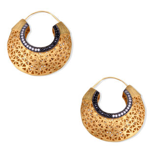 FILIGREE HOOPS Earring By Symetree
