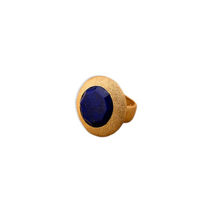 OCTAGONAL LAPIS RING by Symetree, Contemporary Ring
