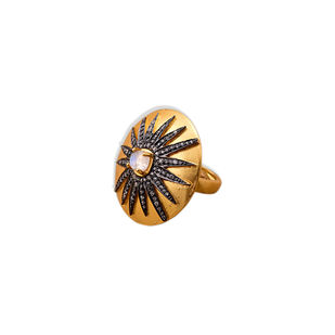 MIGHTY STAR RING by Symetree, Art Jewellery Ring