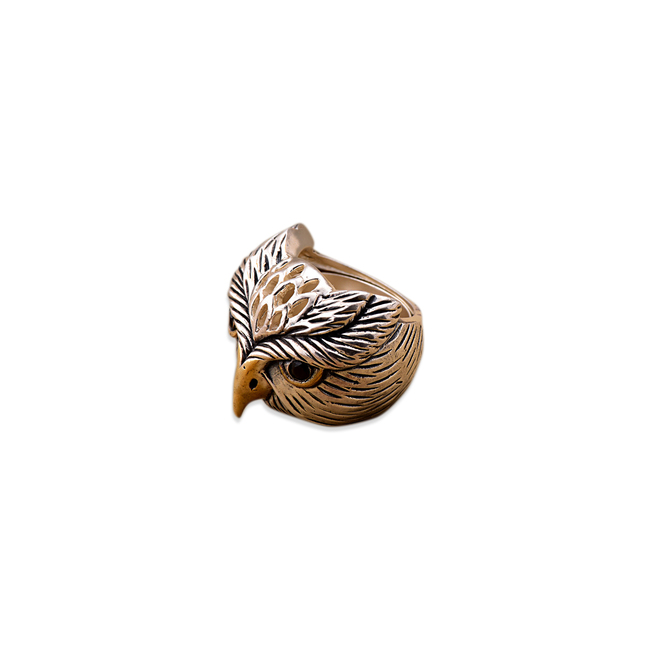 THE OWL RING by Symetree, Art Jewellery Ring
