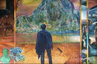 City Persona I Digital Print by Amitabh SenGupta,Expressionism