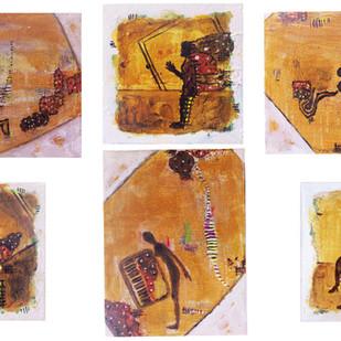 avdhar 2 Digital Print by riddhima sharraf,Expressionism
