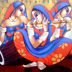 Music Digital Print by Sekhar Roy,Decorative