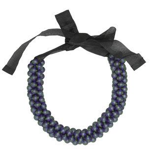 Raspberry Silk by Eisha Designs, Art Jewellery Necklace