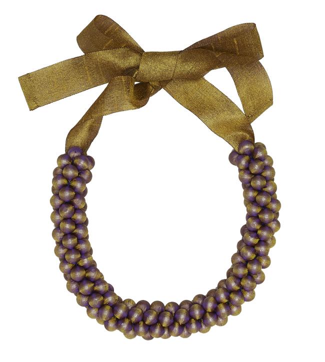 Raspberry Silk by Eisha Designs, Contemporary Necklace