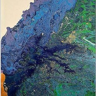 Shore 1 Digital Print by Kartikey Sharma,Abstract