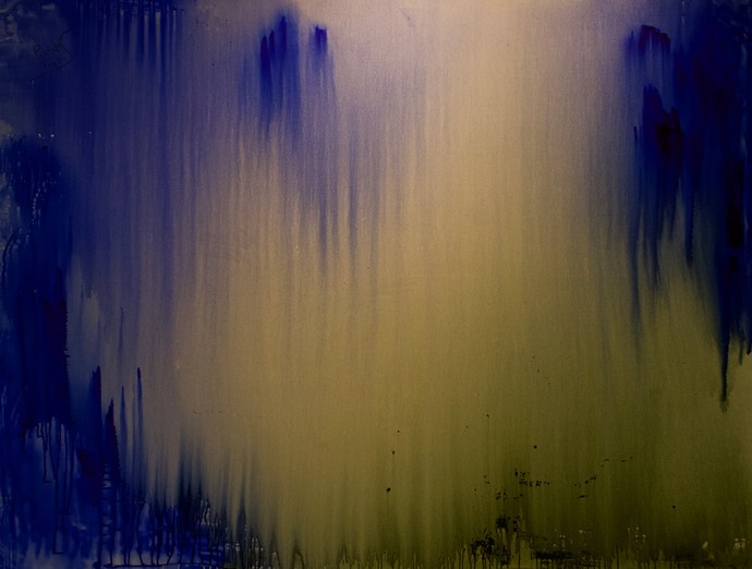 Daybreak-whispering to your soul by PRATAP SINGH, Abstract Painting, Acrylic on Canvas,