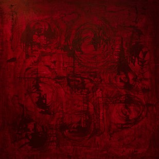 FIRST LOVE,FIRST TIME-BREAKING MY VIRGINITY by PRATAP SINGH, Abstract Painting, Oil & Acrylic on Canvas, Brown color