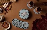 Elephant Coaster set Coaster Set By Eclectic Elan
