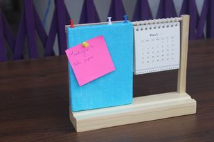 IVEI warli desk calendar with a pin board - Blue Decorative Vase By i-value-every-idea