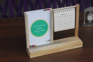 IVEI warli desk calendar with a photo frame Photo Frame By i-value-every-idea