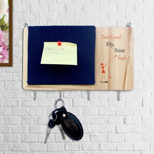 IVEI warli key holder with a pin board Wall Decor By i-value-every-idea