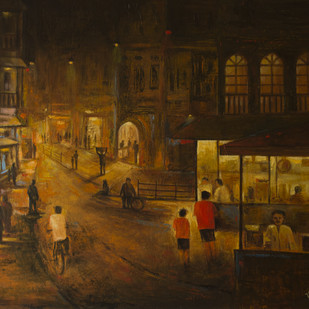 Stall - 21 Digital Print by Atul Virkar,Impressionism