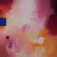 10 ganpat bhadke  involution  acryalic on canvas  36 x 66 inch