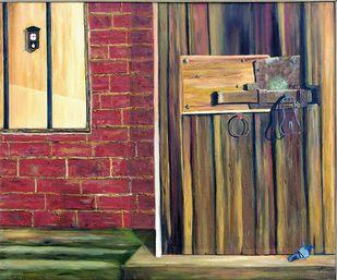 Entrance Digital Print by Geetha Ramasesh,Impressionism