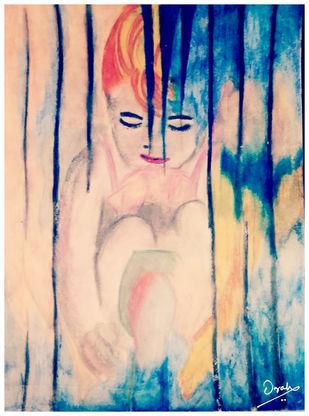 Dreams Digital Print by Orah,Expressionism