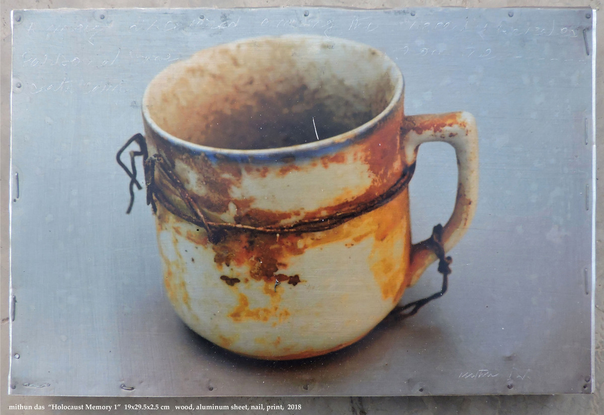 holocaust memory 1 by Mithun Das, Realism Sculpture | 3D, Found Object, Brown color