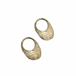 Ocean Hoops by Studio Kassa, Art Jewellery Earring