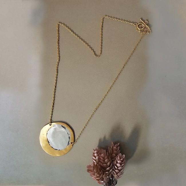 Luncer Neckline 3 by Studio Kassa, Art Jewellery Necklace