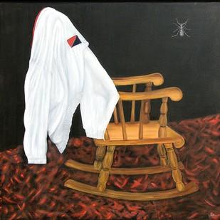 Rocking chair Digital Print by Geetha Ramasesh,Impressionism