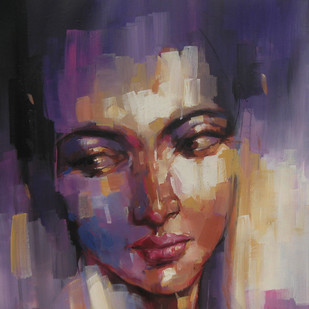 expression series Digital Print by Anindya Mukherjee,Expressionism