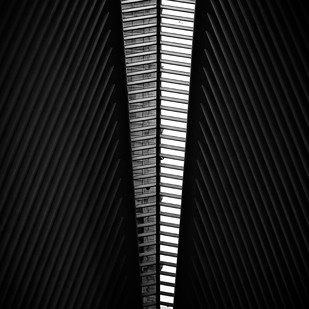 Skylight by Rahul Ghosh, Image Photography, Digital Print on Paper, Black color