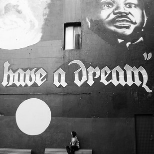 I have a dream.... by Rahul Ghosh, Image Photography, Digital Print on Paper, Gray color