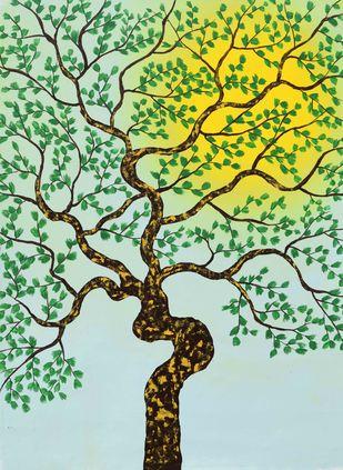 Savkalam Digital Print by Sumit Mehndiratta,Impressionism