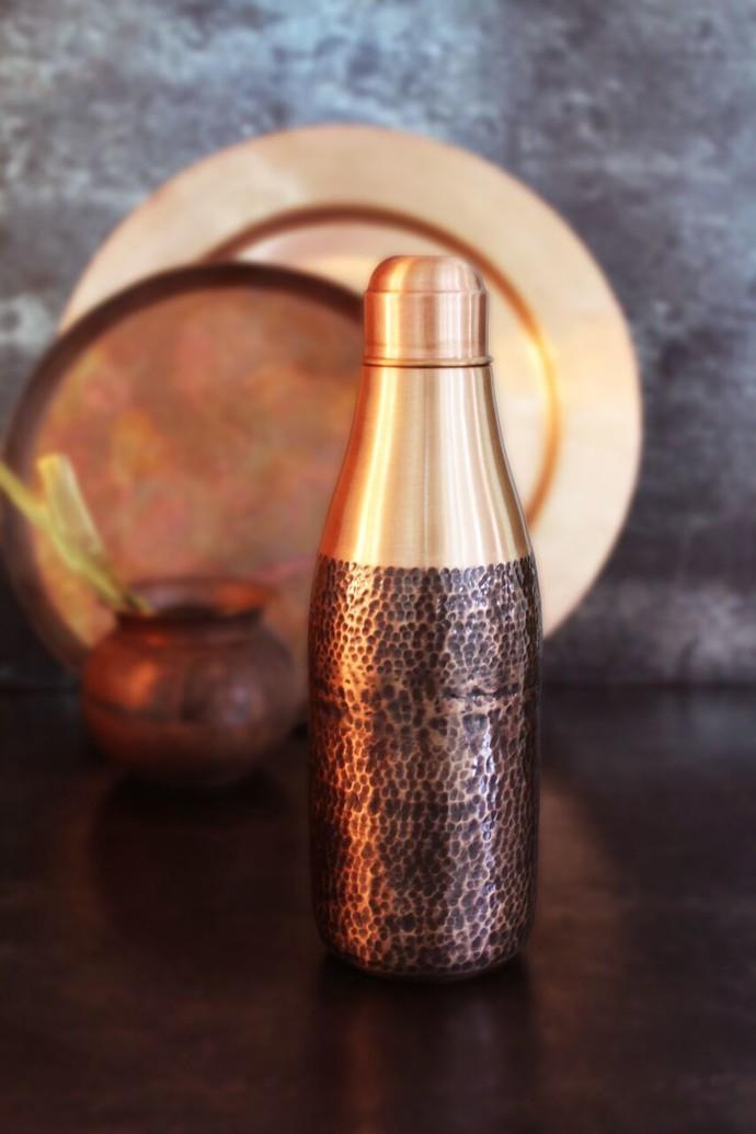 Pure Brass Metal Mukhwas Bottle