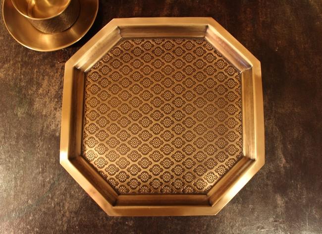 COURTYARD PHULKARI PLATTER LARGE Kitchen Ware By COURTYARD