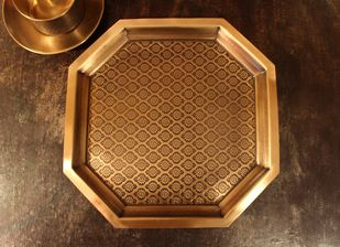 COURTYARD PHULKARI PLATTER LARGE Kitchen Ware By COURTYARD