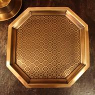 Phulkari platter large %285%29