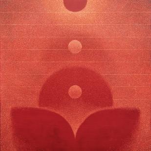 transcend Digital Print by Hanumantha Rao Devulapalli,Geometrical