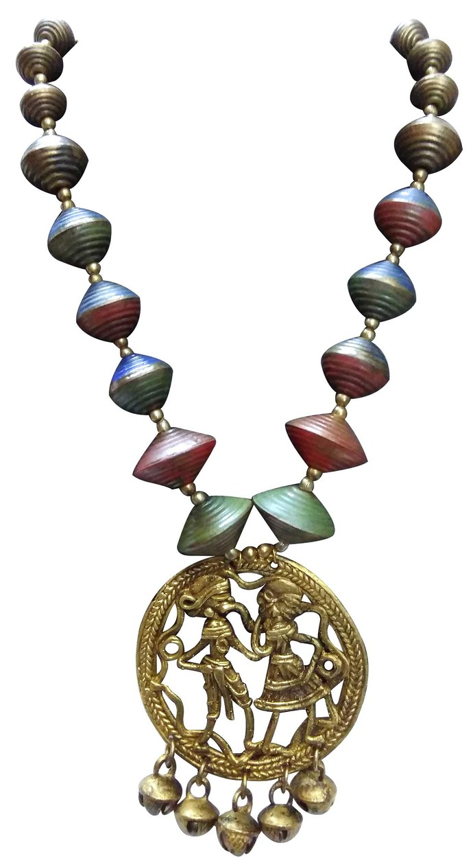 vintage gold art signed sdetail necklace rainbow crystal jeweled inc pendant jewel jewelry