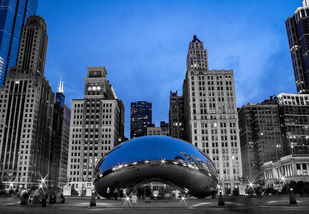 Bean by Dinesh Shringi, Image Photography, Canvas on Board, Gray color