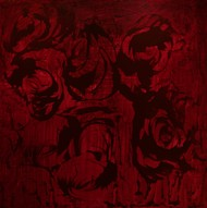 FIRST LOVE,FIRST TIME-BREAKING MY VIRGINITY-II by PRATAP SINGH, Abstract Painting, Acrylic on Canvas, Brown color