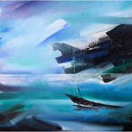 Bheem malhotra  acrylic on canvas   3'x4'