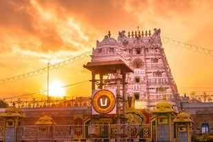 Tirumala Tirupati Digital Print by Natraj Vemuri,Image