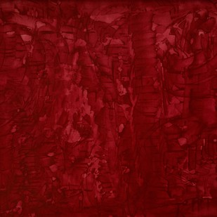 Heaven-III-Rose by PRATAP SINGH, Abstract Painting, Oil & Acrylic on Canvas, Red color