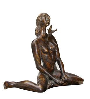 Our Song by Renuka Sondhi Gulati, Art Deco Sculpture | 3D, Bronze,