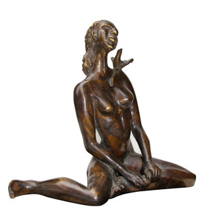 Our Song by Renuka Sondhi Gulati, Art Deco Sculpture | 3D, Bronze,