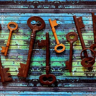 Hot Keys by Shafi, Image Photography, Digital Print on Archival Paper, Green color