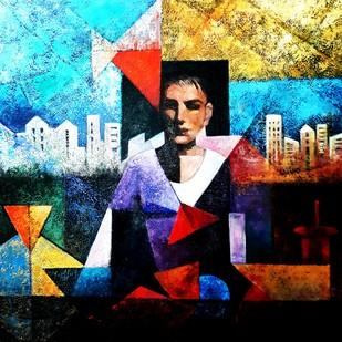Untitled Digital Print by Aditi Das,Expressionism