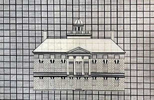 Drawing history III by Krishnal Fulwala, Geometrical Drawing, Ink on Paper, Gray color