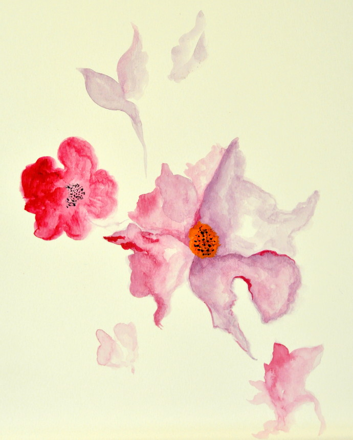 Withering away Digital Print by Manpreet ,Impressionism