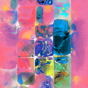 Untitled 001 Digital Print by Sunil Balkawade,Abstract