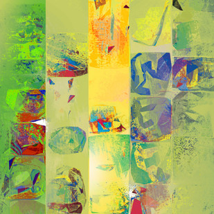 Untitled 003 Digital Print by Sunil Balkawade,Abstract