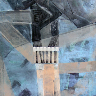 Move to another City II Digital Print by Prabin Kumar Nath,Expressionism