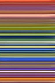 Walking Lines 6 by Vishwanath Mishra, Digital Digital Art, Digital Print on Canvas, Brown color
