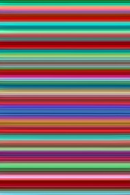 Walking Lines 9 by Vishwanath Mishra, Digital Digital Art, Digital Print on Canvas, Brown color